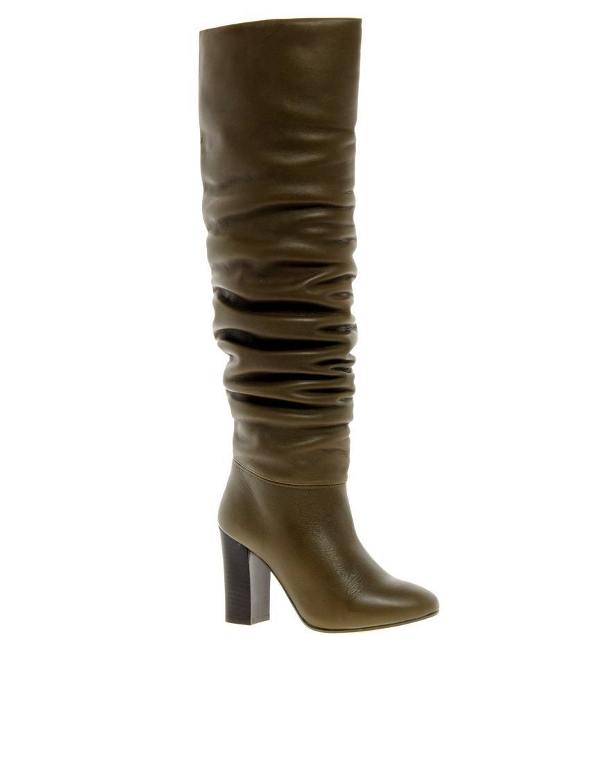 Sophia Kokosalaki Leather Knee High Boot