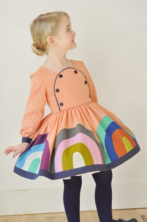 Stylish-Dresses-for-baby-girls 18 Super Cool Fashion Ideas for kids- Dresses for Kids