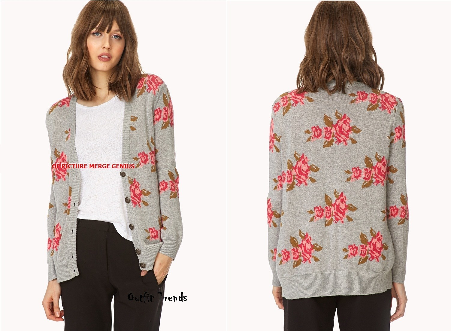 Stylish Flower Cardigans