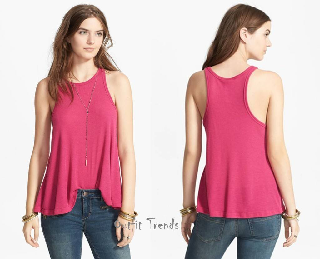 Stylish-Long-Beach-tops-women-1024x829 16 Cute Outfits with Tank tops - How to Wear Tank Tops