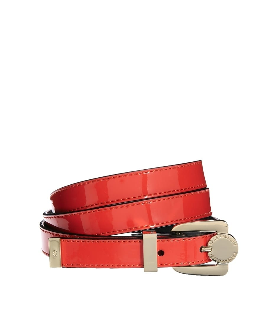 Stylish Skinny Leather Belts for women