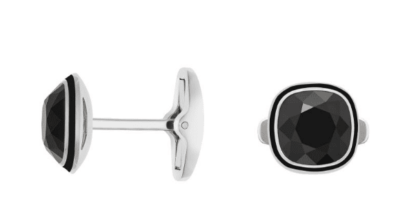Swarovski-Black-Cuff-links New and Classy Collection of Swarovski Women Cufflinks