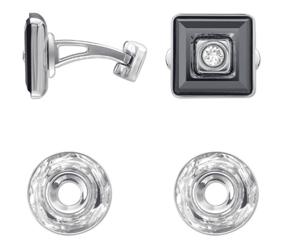 Swarovski-Crystal-Cuff-links New and Classy Collection of Swarovski Women Cufflinks