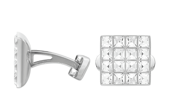 Swarovski-Diamond-Cuff-links New and Classy Collection of Swarovski Women Cufflinks