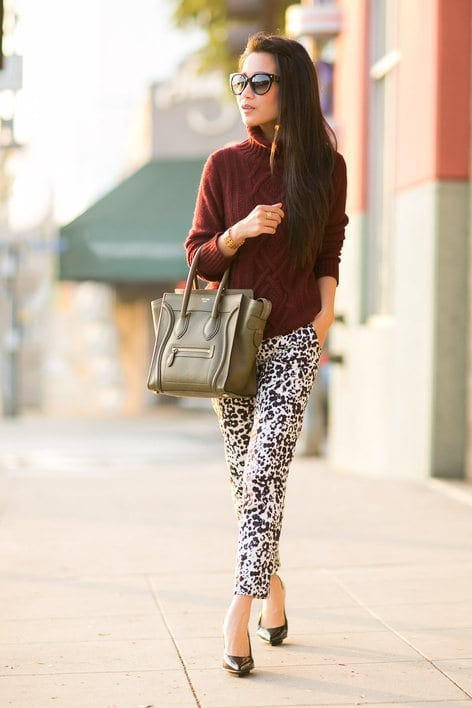 Women animal print fashion trends