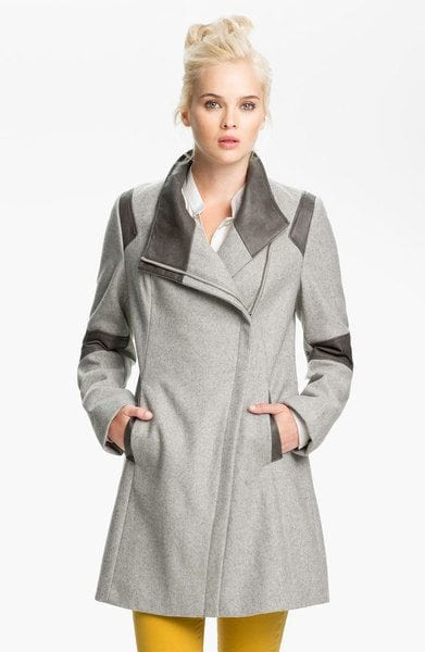 branded long coat fashion