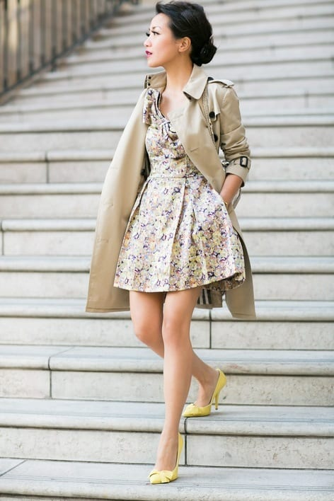 cool floral print dresses for girls