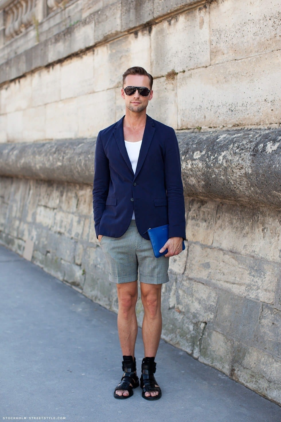 Bermuda-fashion-ideas-for-men 26 Cool and Stylish Bermuda Shorts for Men This Season