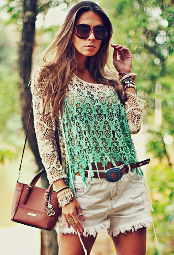 Cool-Lace-Tops 26 Beautiful Lace Dresses and Ideas how to Wear Them