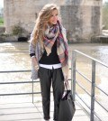 Latest scarves fashion ideas