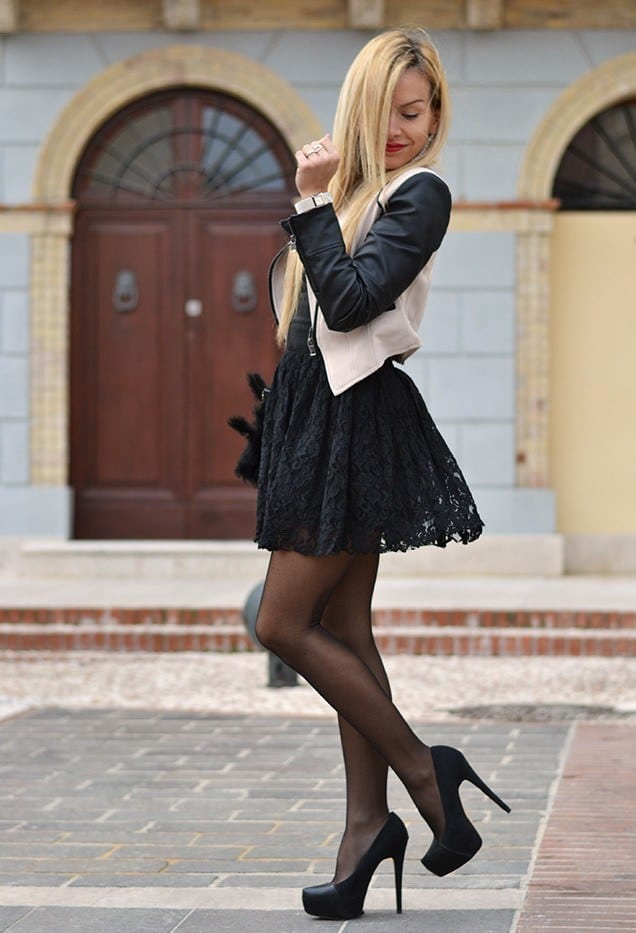 Latest-style-Lace-Outfits 26 Beautiful Lace Dresses and Ideas how to Wear Them