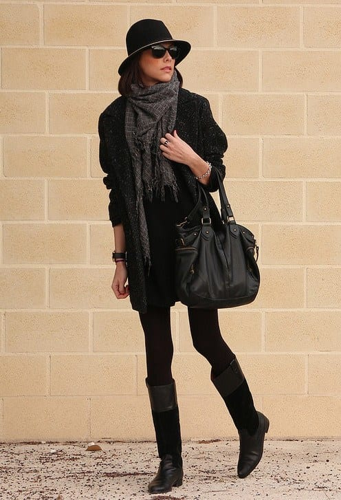 cashmere-scarves-for-women Outfits with Scarves-18 Chic Ways to Wear Scarves for Girls