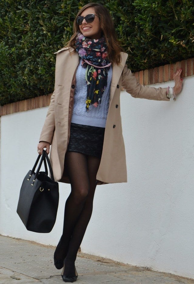 pashmina-scarves-trends- Outfits with Scarves-18 Chic Ways to Wear Scarves for Girls