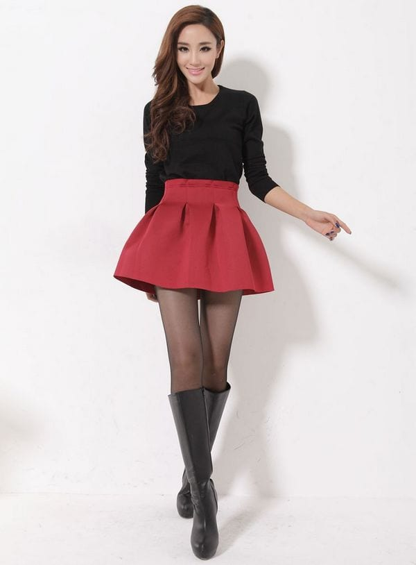 Cute Mini Skirt Outfits 37