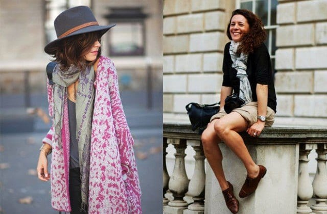 summer-outfits-with-scarf Outfits with Scarves-18 Chic Ways to Wear Scarves for Girls