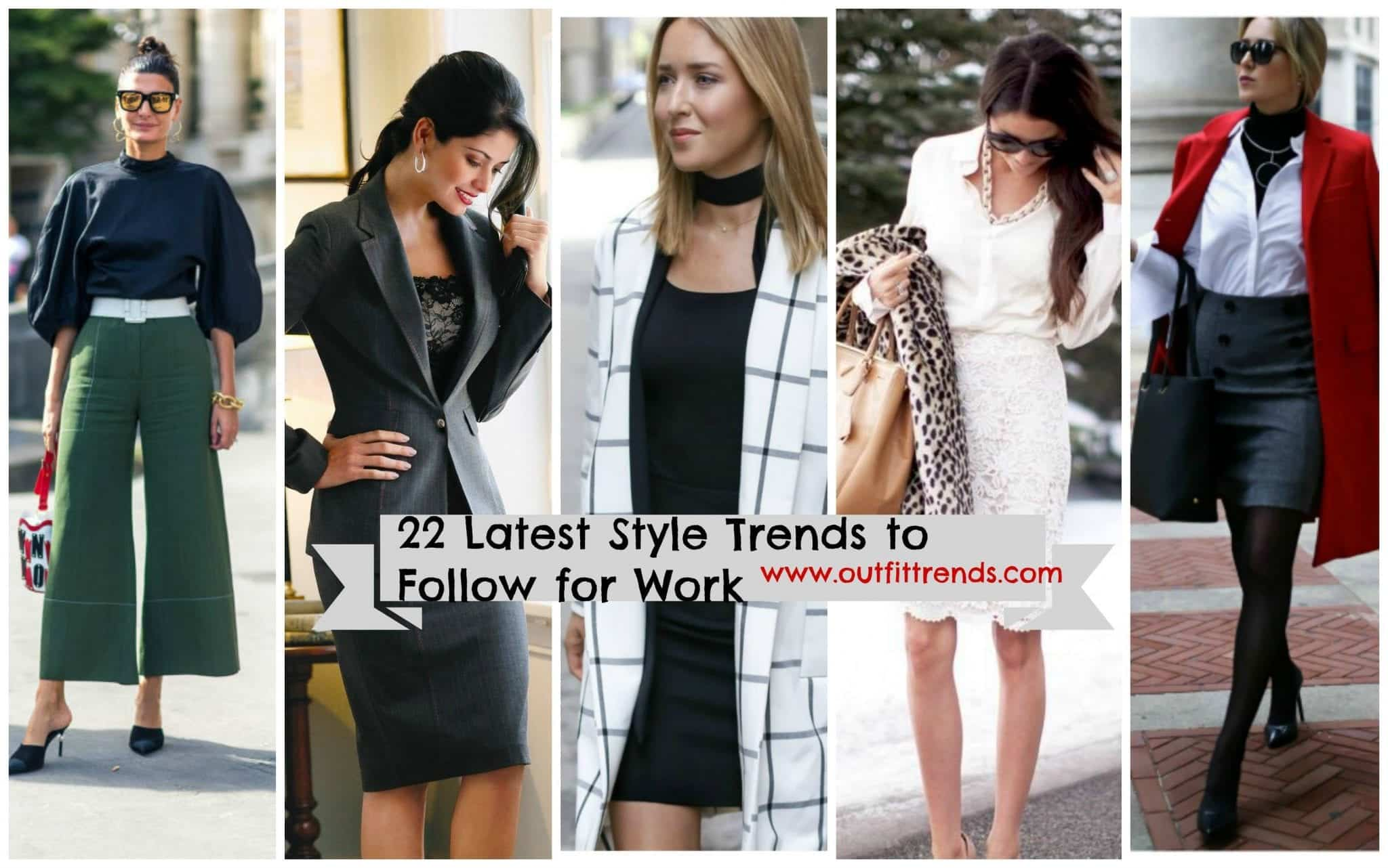 latest-work-outfits-for-women 22 Elegant WorkWear Outfits Combinations for Women