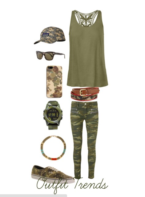 Military Inspired Teenage Outfits
