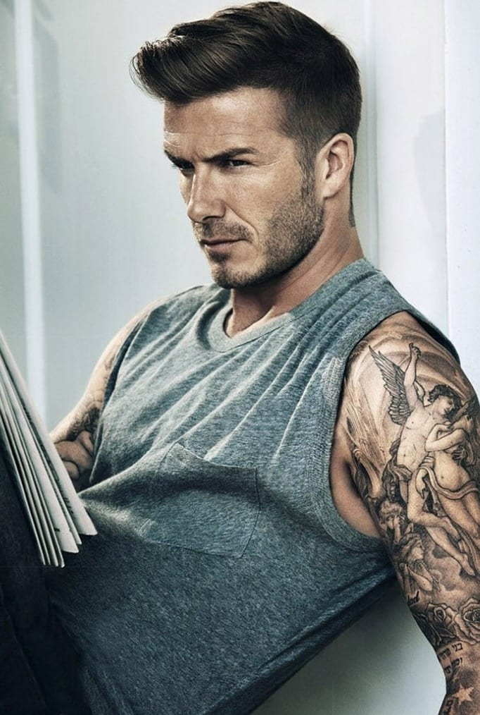 Beckham-latest-hairstyles Latest Men Hairstyles- 150 Most Trending Hairstyles for Men