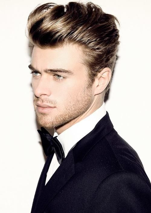 Elegant men hairstyles ideas