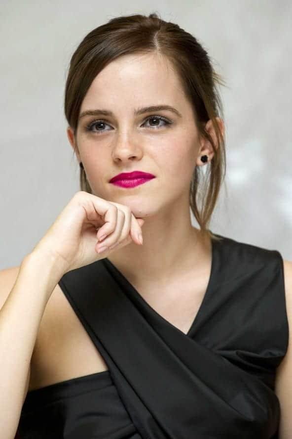 Emma Watson lipstick fashion