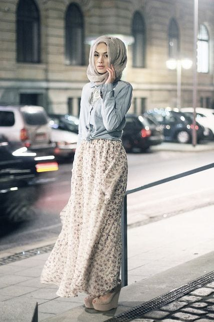 Hijab-Ideas 30 Modern Ways to Wear Hijab - Hijab Fashion Ideas
