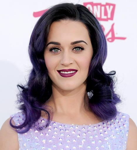 Katy Perry Purple Lipsticks