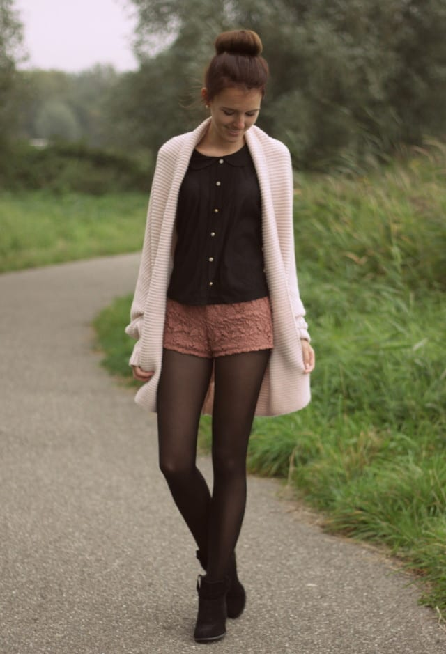Lace Shorts Fashion