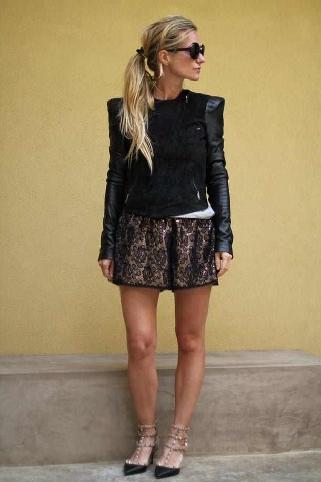 Lace Shorts Summer Fashion