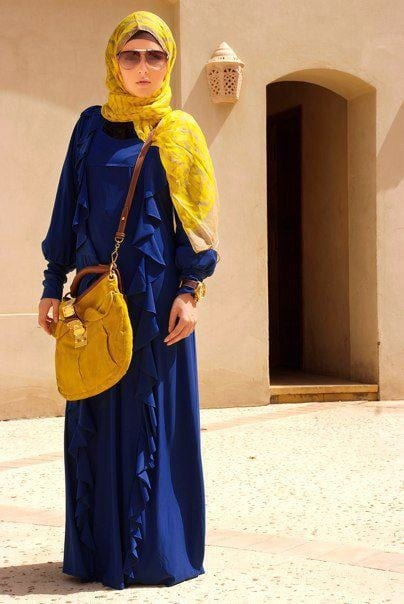 Muslim-women-fashion-Ideas 30 Modern Ways to Wear Hijab - Hijab Fashion Ideas