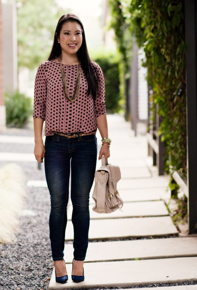 17 Best Polka Dot Outfits - How - 166.7KB