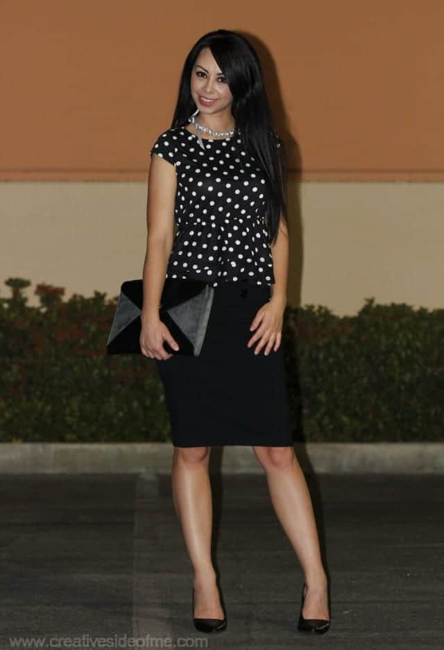 Polka Dot Outfit Ideas