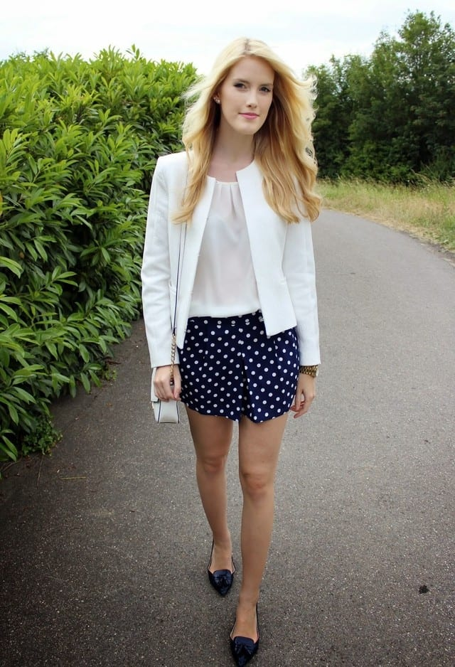 Polka Dot Vintage Shorts