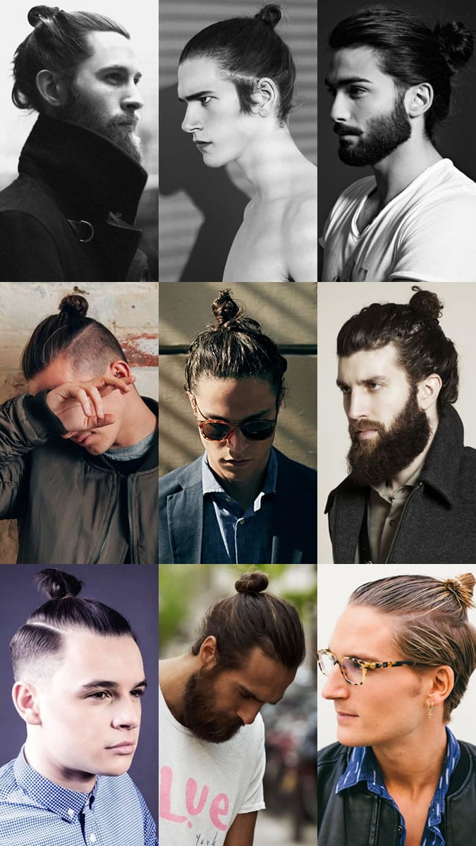 Topknot-Mens-hairstyles Latest Men Hairstyles- 150 Most Trending Hairstyles for Men