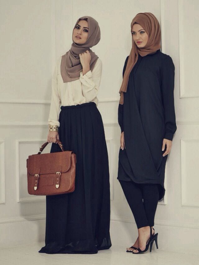 hijab-fashion-2014 30 Modern Ways to Wear Hijab - Hijab Fashion Ideas