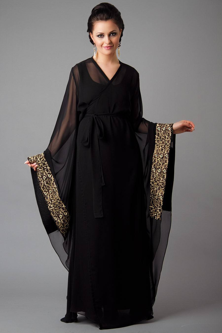 Arabic Embroidered Abayas