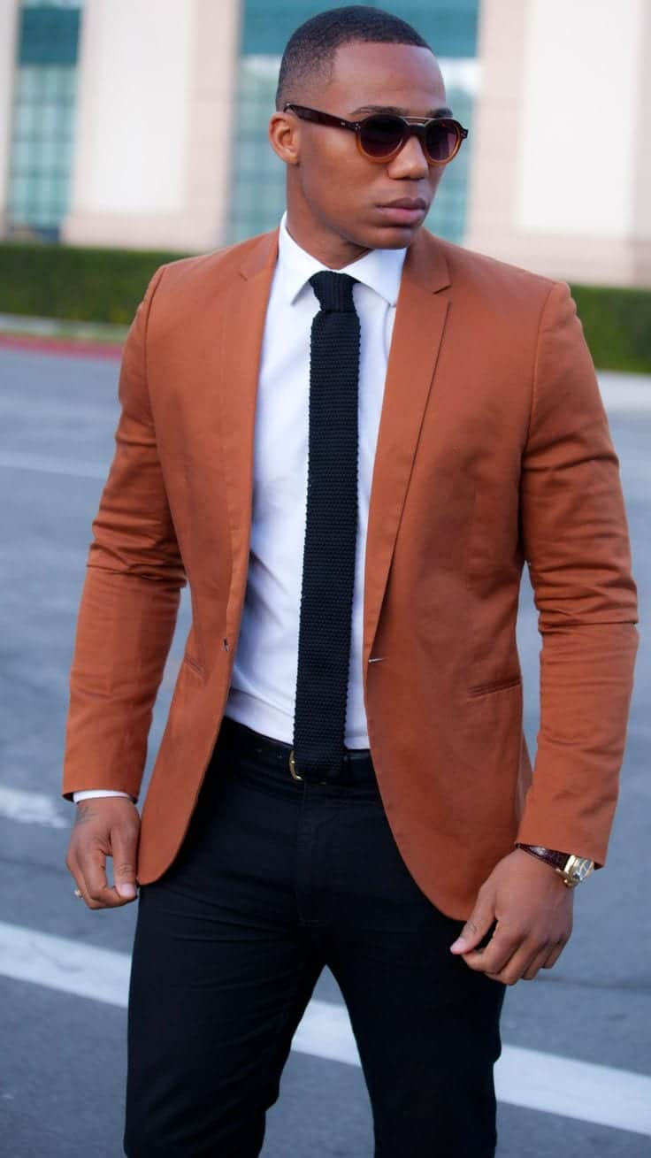 Black-men-Outfits 18 Popular Dressing Style Ideas for Black Men - Fashion Tips