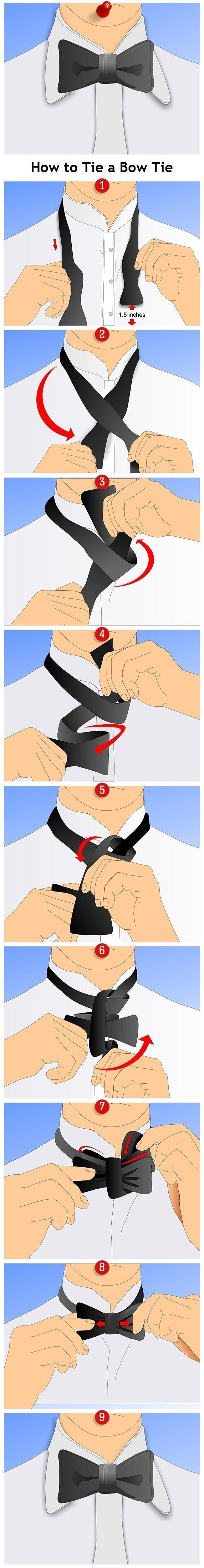simple Bow Tie tutorial