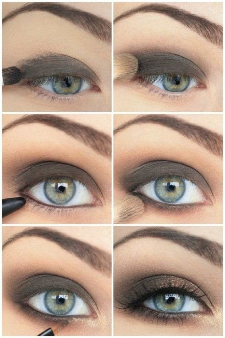Classic Smokey Eyes Makeup