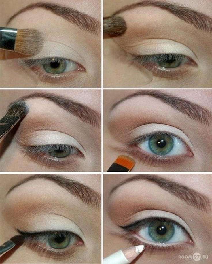 Cool Smokey Eye Makeup
