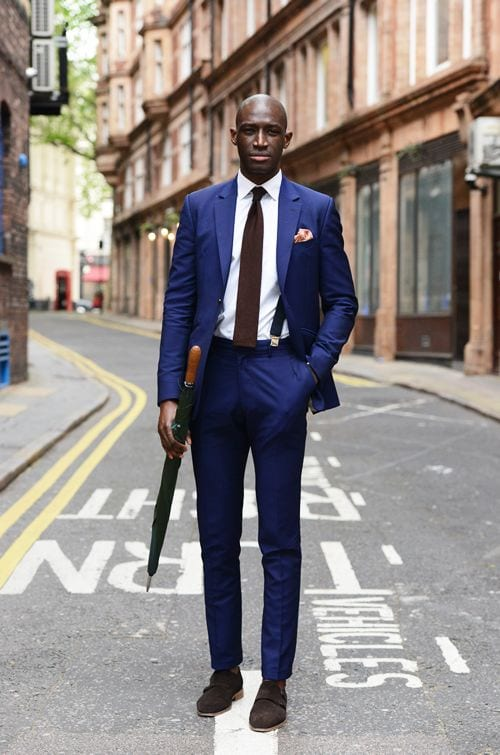 Elegant-Suits-Black-Male 18 Popular Dressing Style Ideas for Black Men - Fashion Tips