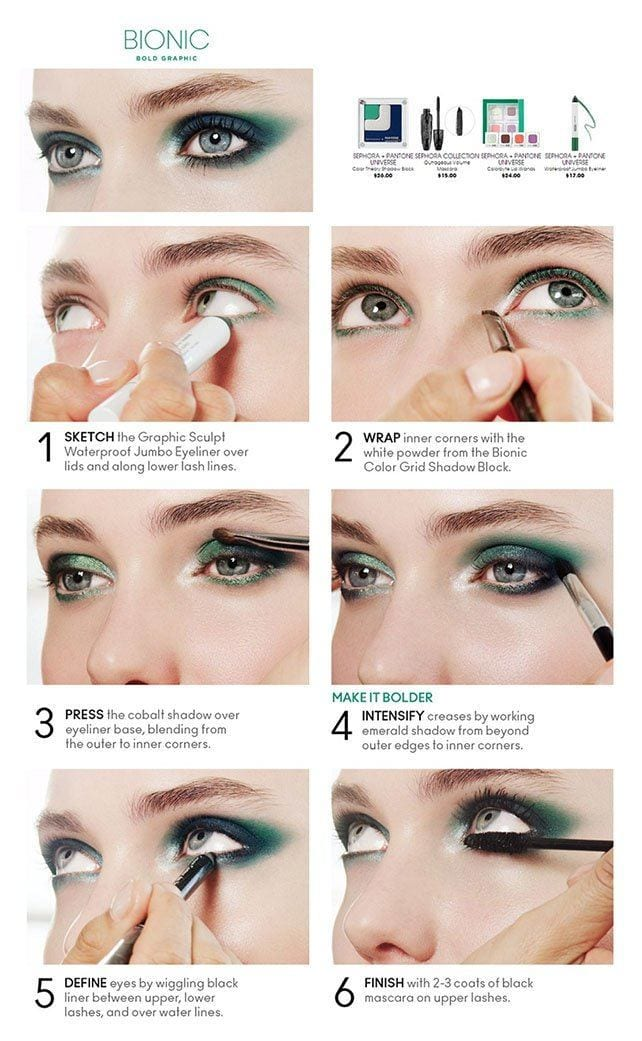 Green Smokey Eye Shadow Tutorial