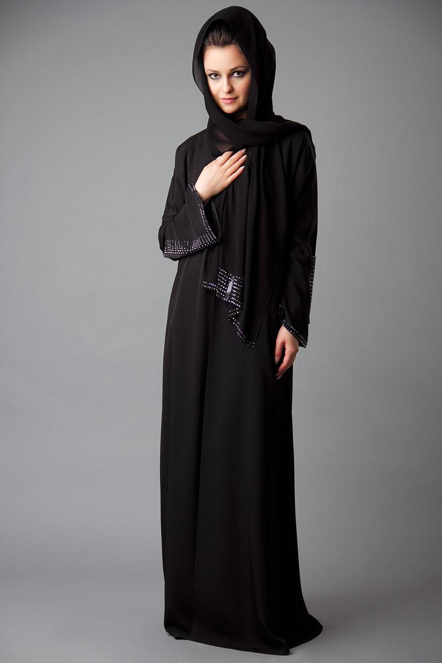 Irani Embroidered Abayas