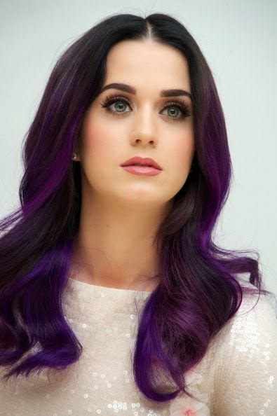 30 Cute Purple Hairstyle For Girls 2018 New Purple Shades