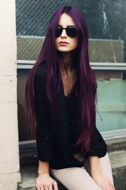 Latest-purple-hair-fashion Purple Hairstyles- These 50 Cute Purple Shade Hairstyles You Cant Resist Trying