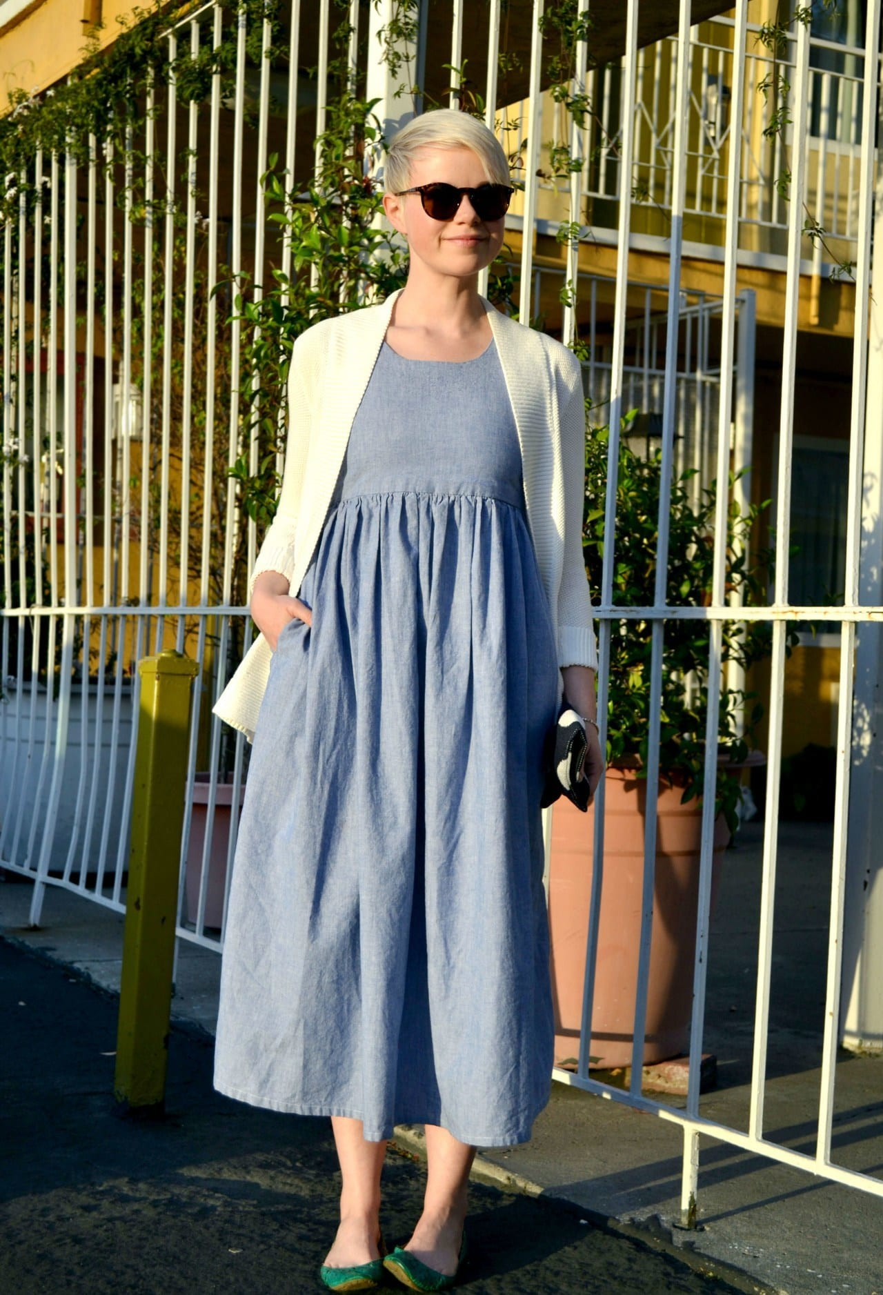 Long-denim-dresses 32 Beautiful Denim Dress to Inspire your daily Fashion