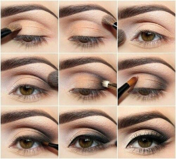 Peach Smokey Eye