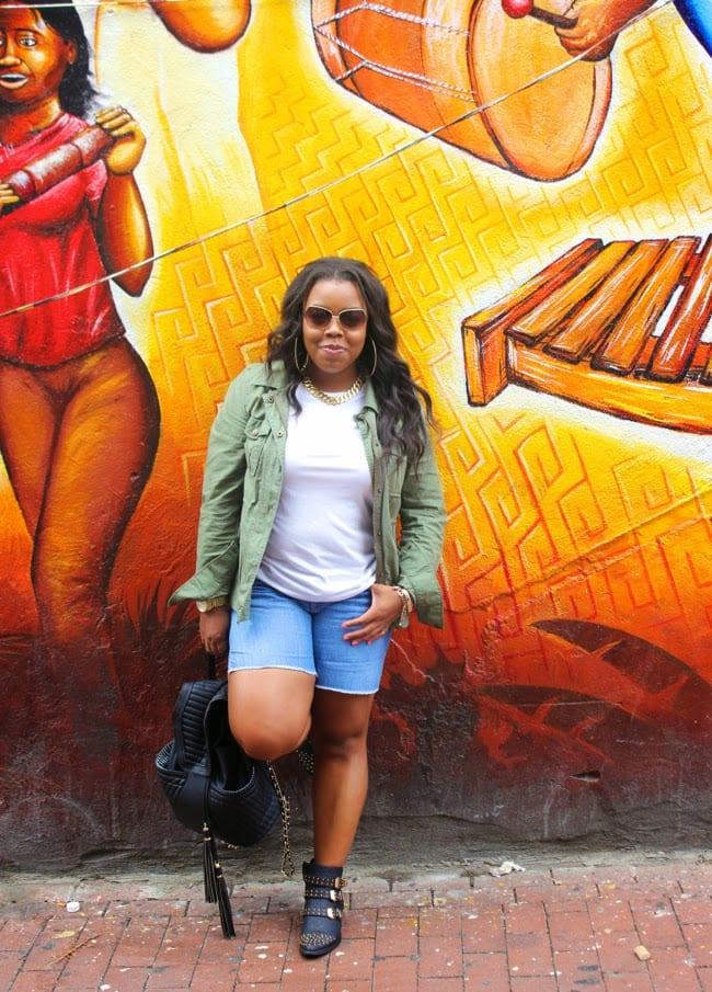 Plus size black women fashion