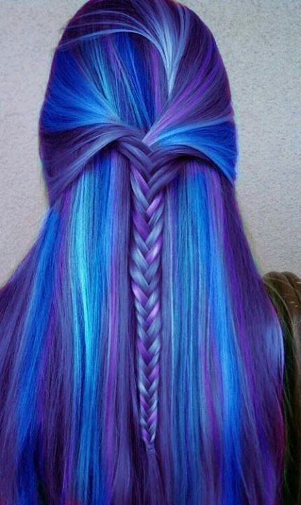 Purple Hair Ideas