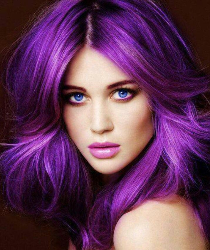 Purple-Hair-Trend-for-Women Purple Hairstyles- These 50 Cute Purple Shade Hairstyles You Cant Resist Trying