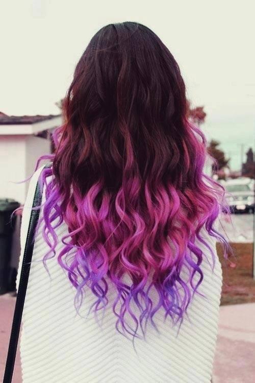 Peachy 30 Cute Purple Hairstyle Ideas For This Season Hairstyles For Women Draintrainus